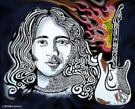 Rory Gallagher by Ben Gormley