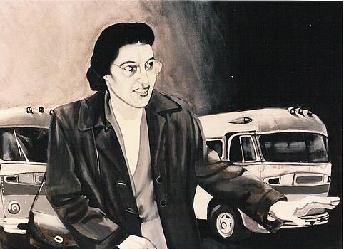 Rosa Parks by Howard Stroman