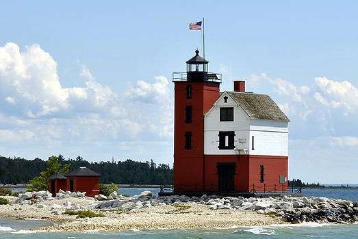 Marysue Ryan - Round Island Lighthouse