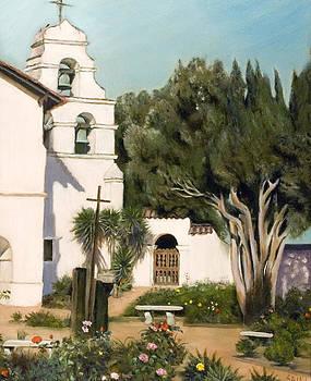 San Juan Bautista Mission by Lorna Saiki