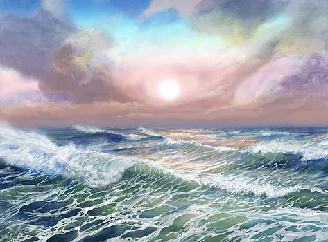 Seascape by Jack Tzekov