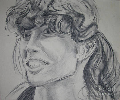 Self Portrait by Gill Kaye