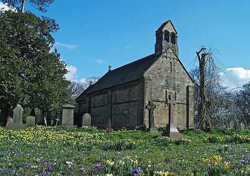 St John the Baptist Adel by Steve Watson