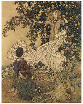 Edmund Dulac - The Garden of Paradise