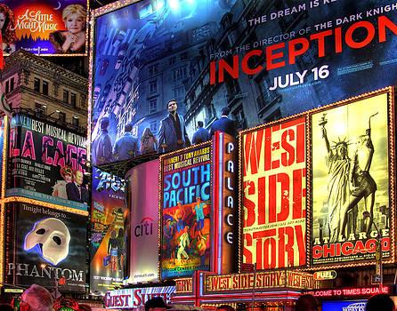 Times Square by Joe Paniccia