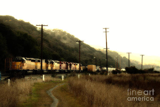 Wingsdomain Art and Photography - Union Pacific Locomotive Trains . 7D10558
