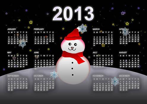 2013 Calendar by Martin Marinov