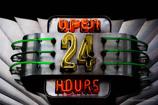 24 Neon by Martin Goldberg