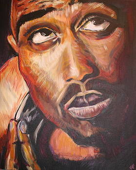 2Pac by Kate Fortin