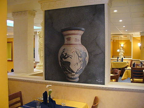 Ancient Greek Pottery by Al  Brown