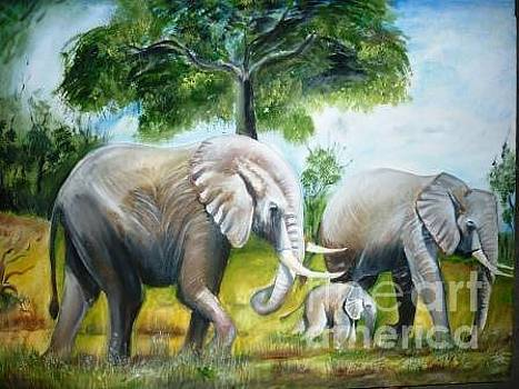 Elephant by Kanthasamy Nimalathasan