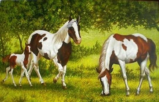 Horse by Ari