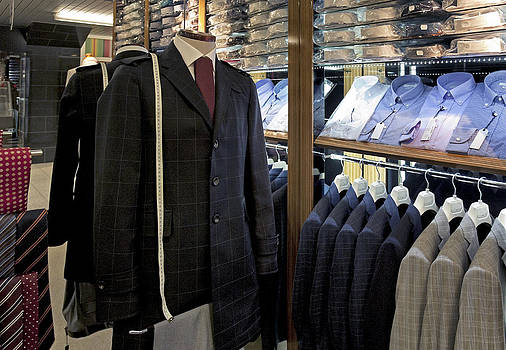 Menswear On Display At A Clothes Shop by Jaak Nilson