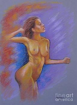Nude Dancing by Rolando Bautista