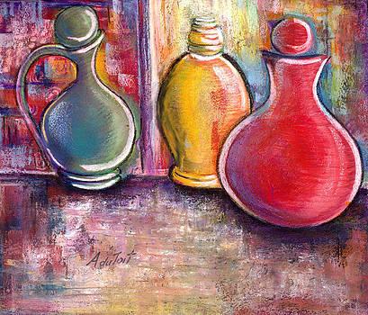 3 Pots by Avon Du Toit
