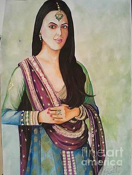 Priety Zinta by Sandeep Kumar Sahota