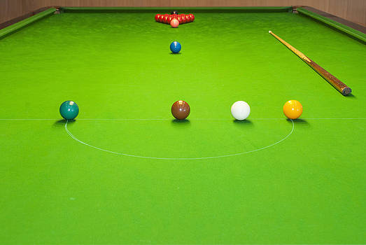 Snooker Room by Guang Ho Zhu