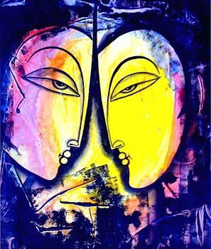 Two Women by Keshaw Kumar