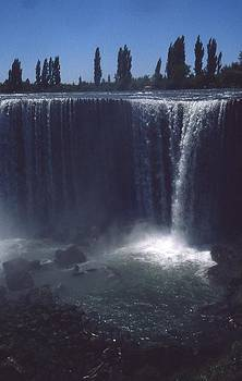 Waterfalls in Chile by Thomas D McManus