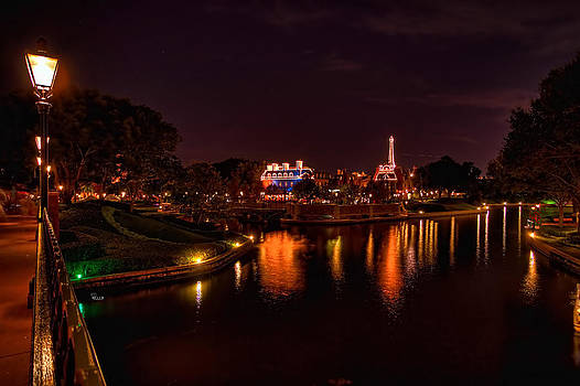 World Showcase France HDR by Jason Blalock