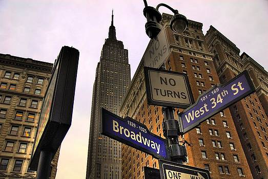 34 and Broadway by Roy Rosenfeld