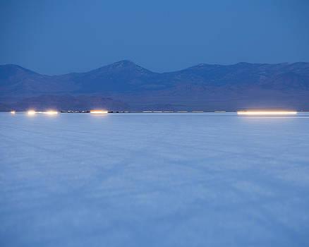 Bonneville Salt Flats Speed Week Auto by Paul Edmondson