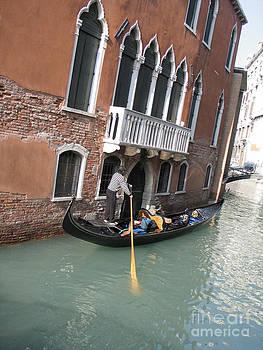BERNARD JAUBERT - Gondola. Venice