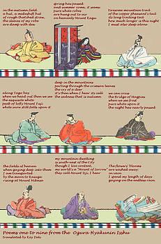 Japanese Poems by Steve Mangan