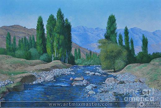 Landscape by Sohib Razzakov