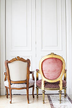 Luxury antique chair. by Chavalit Kamolthamanon