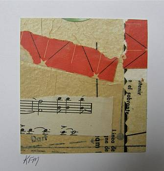 Original Collage NoteCard by Karen Malcolm