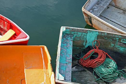 4 Row Boats by Frank Morales Jr