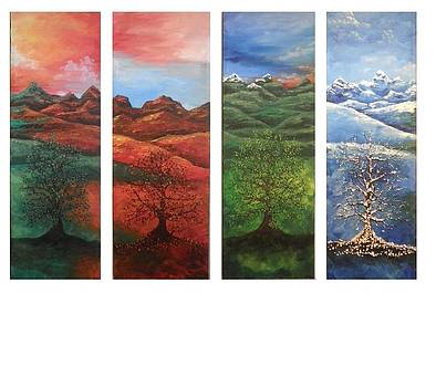 4 Seasons  by Natasha  Malpeli