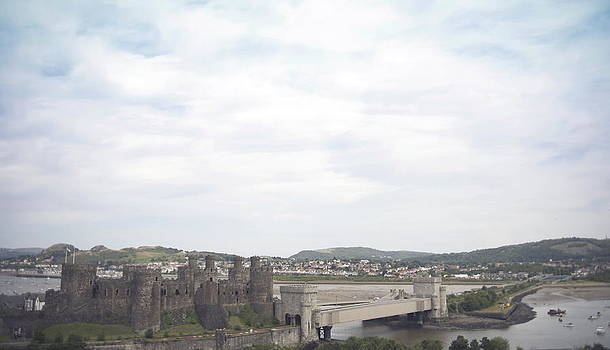Conwy castle by Christopher Rowlands