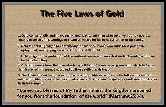 Ricky Jarnagin - 5 Laws of Gold