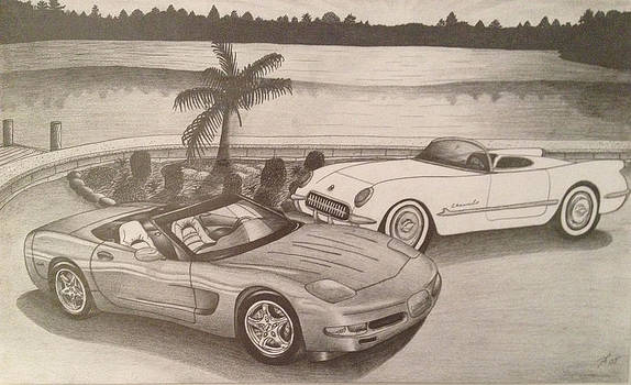 50 years of Corvette 1953-2003 by Peter Griffen