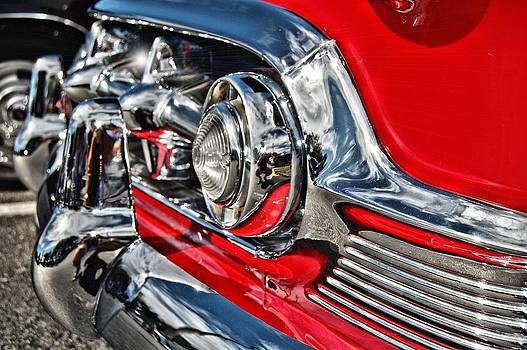 54 Chevy Grille by Richard Peyton