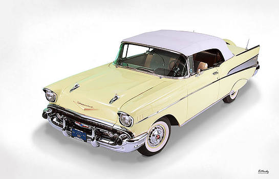 57 Chevrolet Bel Air Convertible by Kevin Moody