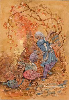 About Quatrains of Khayyam by Reza Badrossama