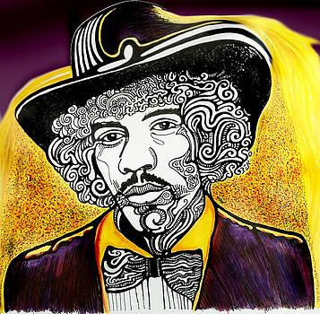Jimi Hendrix by Ben Gormley