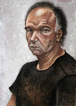 Portrait of a man by Vladimir Kezerashvili