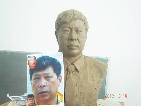 Sculpture by Lihuabing Lihuabing