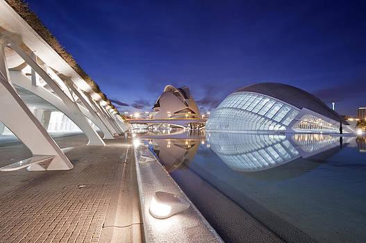 The Ciudad De Las Artes Y De Las by Rob Tilley