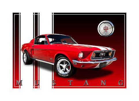 66 Mustang by Brad Dewey