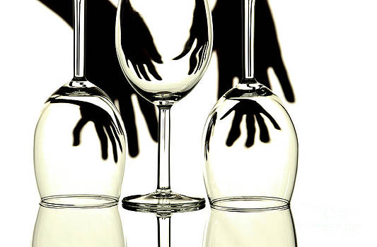 Wine glasses  by Blink Images