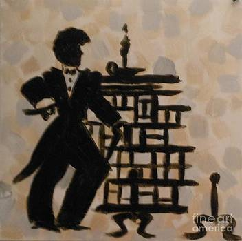 A 1920's Male Silhouette by Marie Bulger