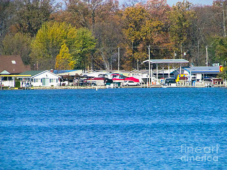 A Beatiful Town Of The Shore by Alisha Greer