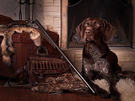 A born hunter... by Tanya Kozlovsky