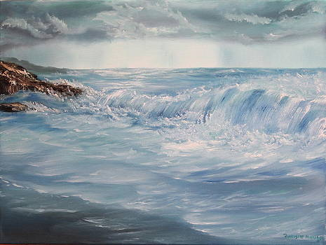 A Break in Storm by Christie Minalga