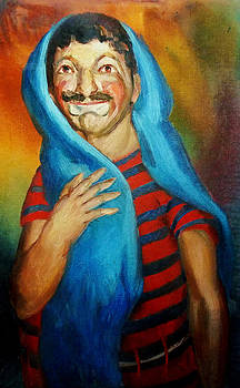 A Circus Clown by Aileen Markowski